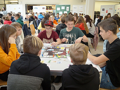 SCHOOLGAMES Bezirksfinale Ried am 10. Jänner 2020
